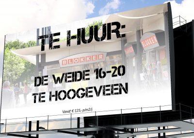 Winkel in de verhuur in De Weide Hoogeveen