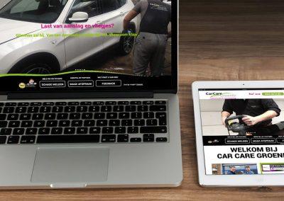 Website en logo-update CarCare Groenlo