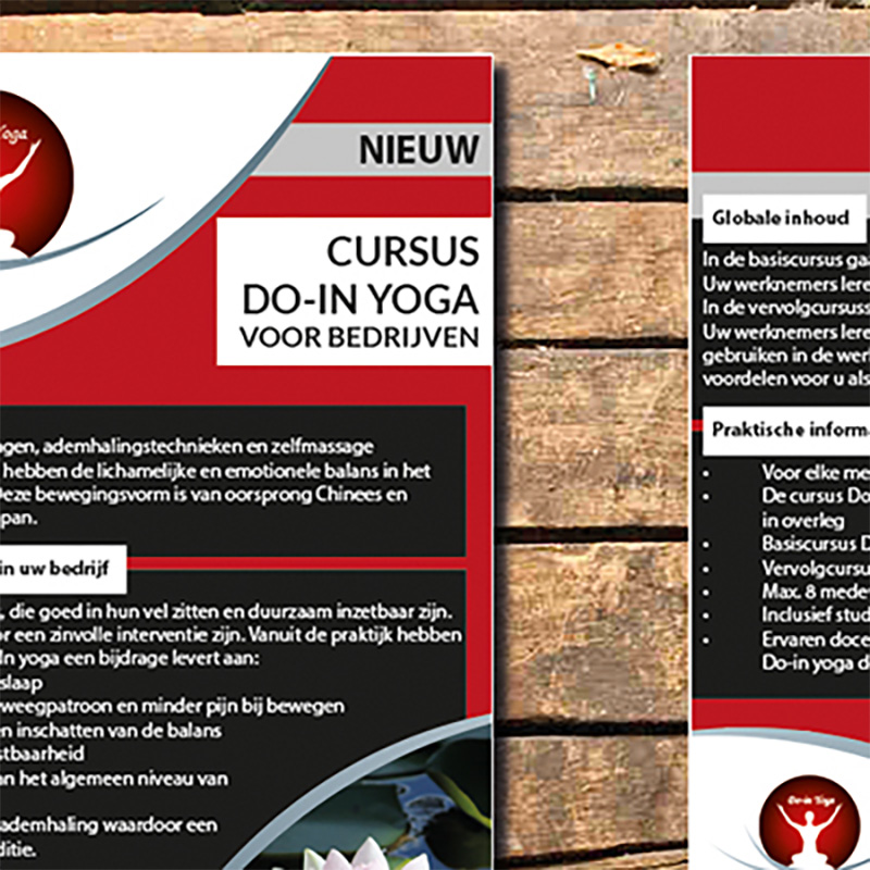 Do-in yoga – dat moet verspreid worden