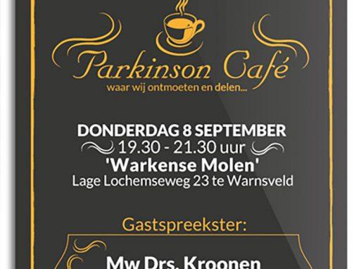 Parkinson Café – Dat wordt aangeplakt!