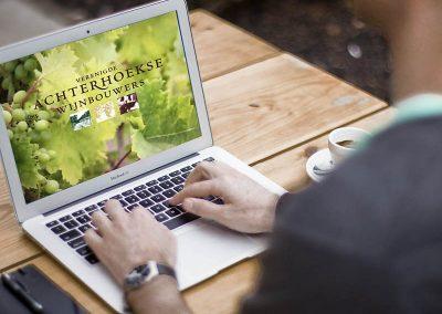 Website Achterhoekse Wijnbouwers