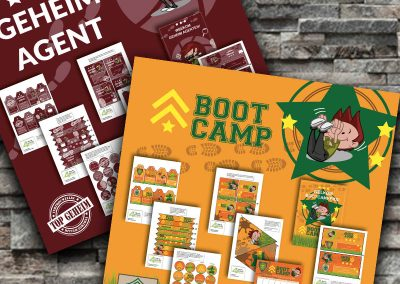 Bootcamp4kids creatief concept