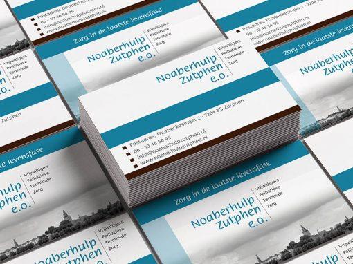Nieuwe visitekaartjes voor Noaberhulp