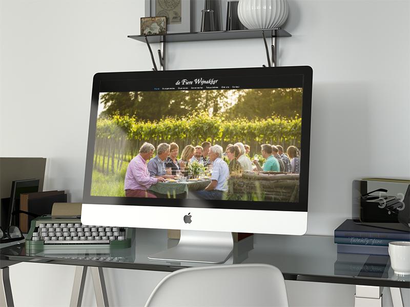 Website De Fiere Wijnakker