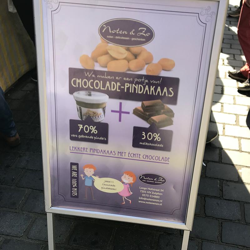 Chocolade-pindakaas!