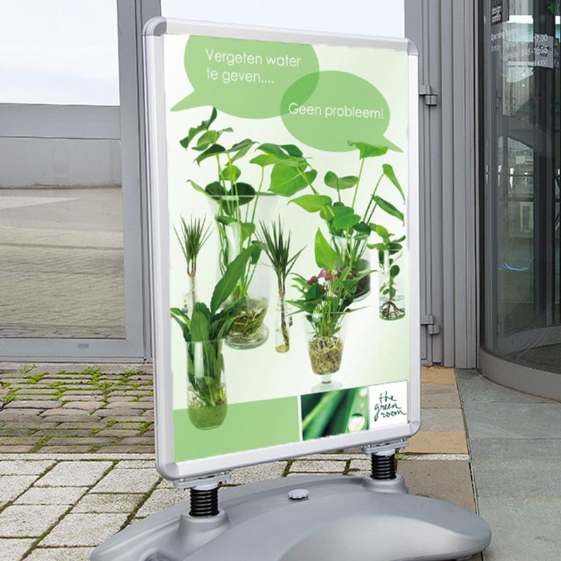 Planten vergeten water te geven?